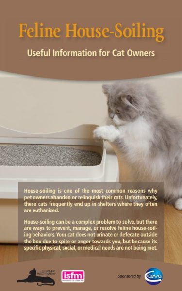 Feline House-Soiling brochure cover